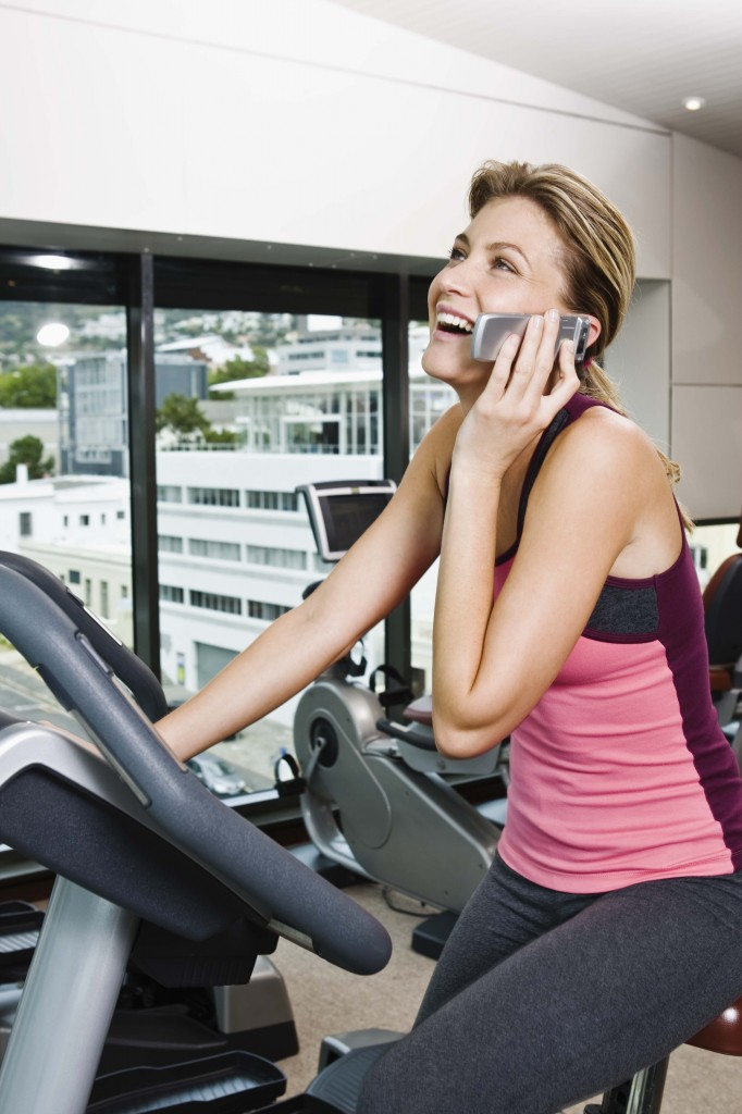 Cell Phone Use in Gym